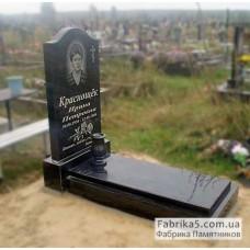 Памятник Плечики с закрытым надгробием №11-011,Стандартные Одинарные памятники