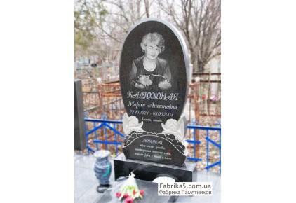 Женский памятник с ангелочками №12-066, Женские памятники