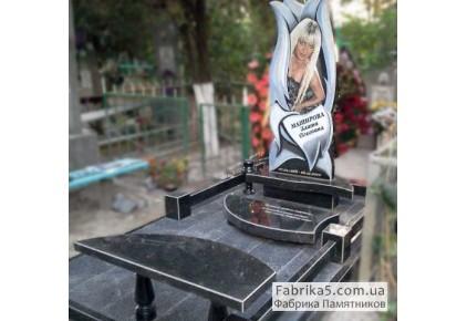 Эксклюзивный памятник цветок Лотоса №13-001, Женские памятники