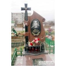 Эксклюзивный памятник Парус с крестом №14-056,Одинарные памятники