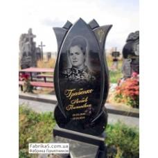 Фигурный памятник в форме цветка Лотоса  №16-009,Женские памятники