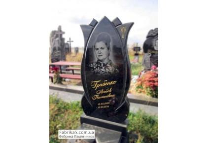 Фигурный памятник в форме цветка Лотоса  №16-009, Женские памятники