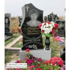 Фигурный женский памятник на тумбе №16-014,Женские памятники