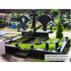Мемориальный комплекс №41-012,Элитные двойные памятники