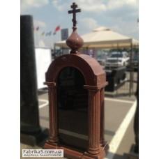 Часовня с куполом на могилу №63-021,Часовни на кладбище