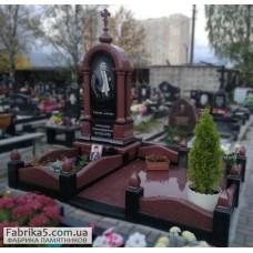 Часовня из красного гранита, элитная модель №63-025,Часовни на кладбище