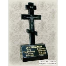 Гранитный крест №61-006,Памятники с крестом