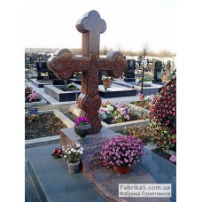 Гранитный крест  №61-013,Памятники с крестом