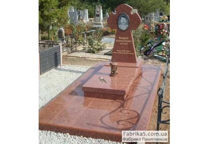 Памятник крест  №63-006, Памятники с крестом