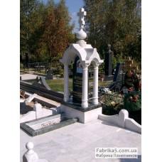 Белая часовня №63-015,Памятники с крестом
