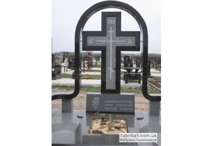 Памятник с крестом №63-017, Памятники с крестом