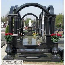 Семейный пантеон арочного типа №62-001,Пантеоны на кладбище