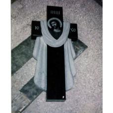 Гранитный крест №64-004,Памятники с крестом