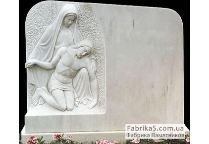 Памятник со скорбящей №73-006, Скульптура на могилу