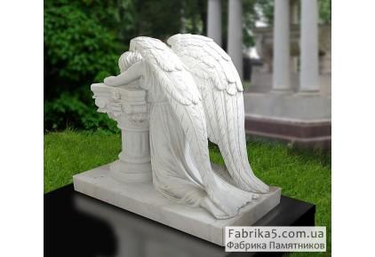 Скорбящий ангел №73-008, Скульптура на могилу