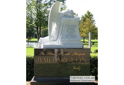 Скорбящий ангел №73-008-2, Скульптура на могилу