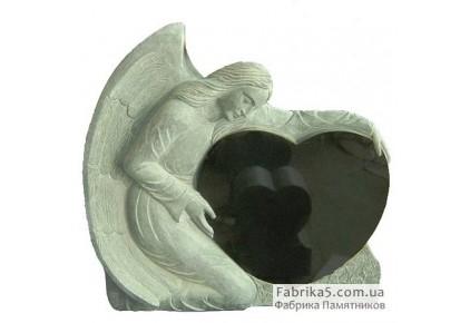 Ангел с сердцем №73-025, Памятники с Ангелом