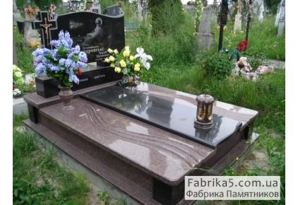 Элитное надгробие №86-005, Надгробия из гранита