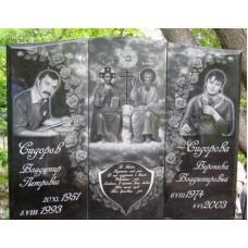 Авторская гравировка на памятнике №95-001,Оформление памятников