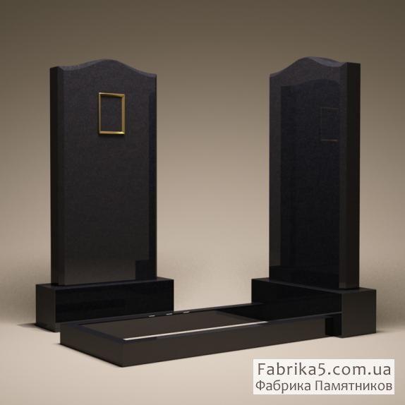 Стандартный одинарный памятник габбро №11-003