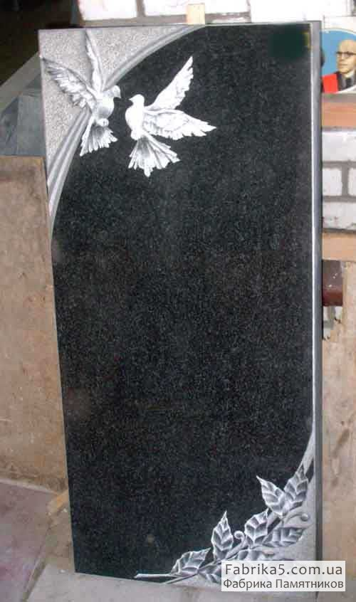 Стандартный одинарный памятник №11-014