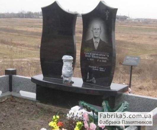 Фигурный двойной памятник №22-010