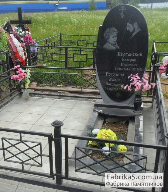 Фигурные двойной памятник №22-038