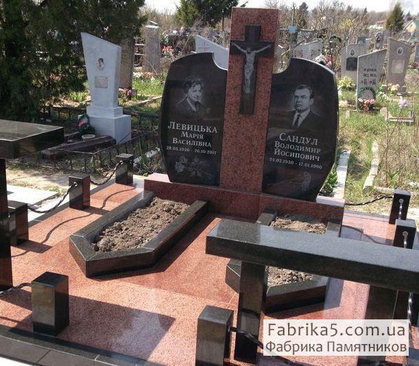 Нестандартный двойной памятник №23-024