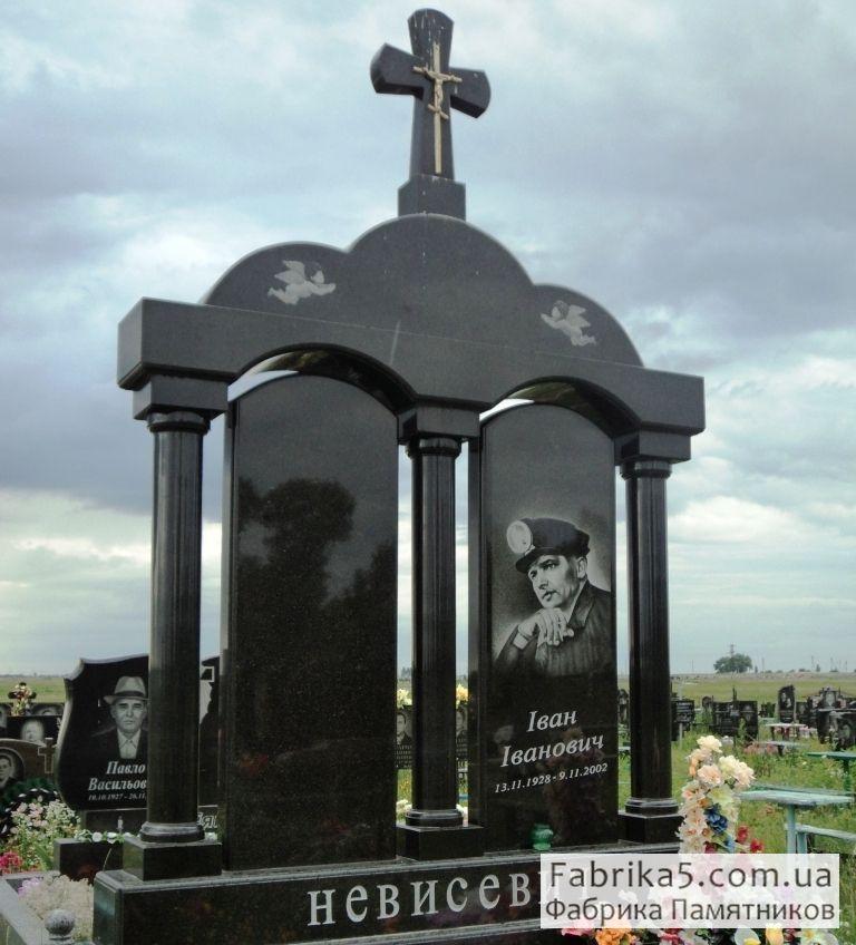 Элитный двойной памятник №24-015