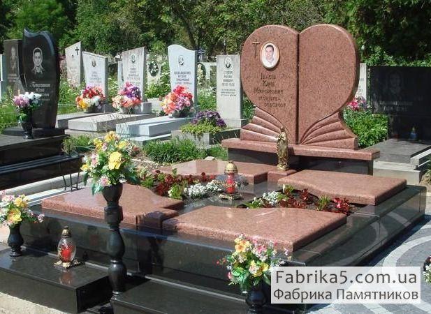 Элитный двойной памятник №24-043