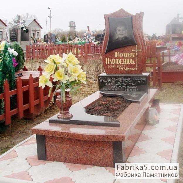 Элитный детский памятник №52-010