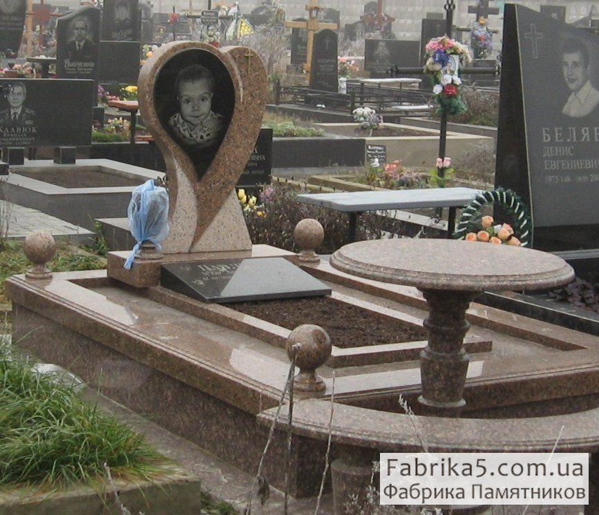 Элитный детский памятник №52-011