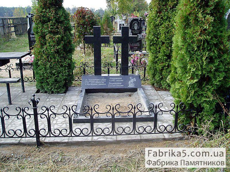 Памятник из гранита на двоих с крестом где заказать фото на памятник лучше