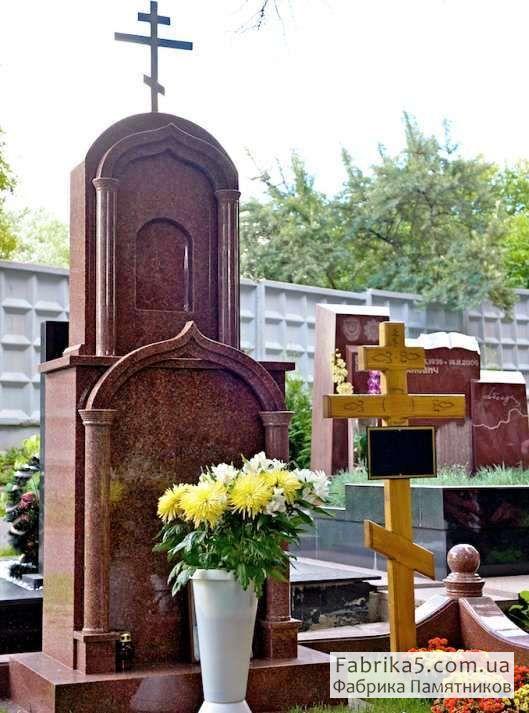 Элитный памятник в виде креста №63-008