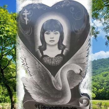 Памятник с лебедем на могилу № 101-06
