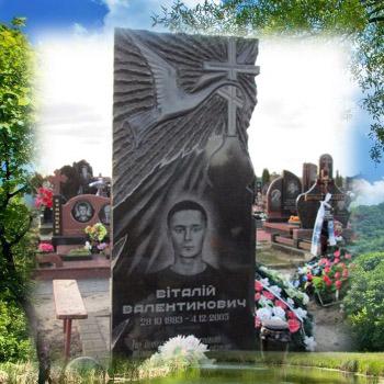 Памятник с лебедем на могилу № 101-07