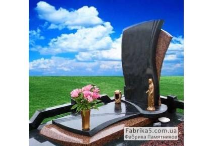 Элитный памятник Парус на волнах №14-038, Элитные памятники