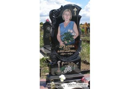 Элегантный женский памятник  №18-001, Женские памятники