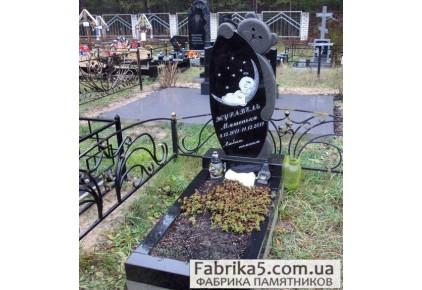 Памятник с мишкой №53-005, Детские памятники