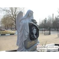 Памятник со скорбящей №73-002