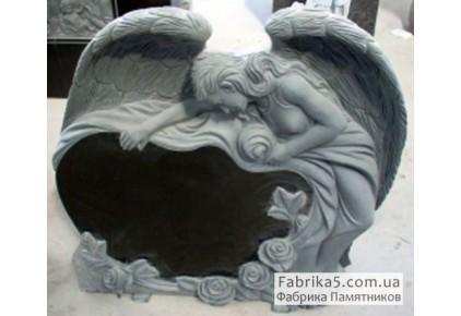 Скорбящий ангел №73-014, Памятники с Ангелом