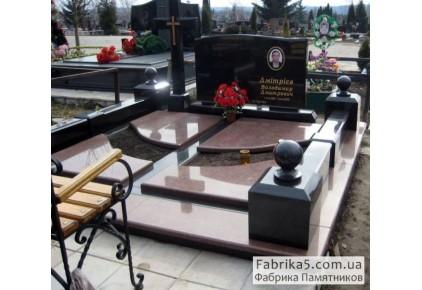 Элитное надгробие №86-001, Надгробия из гранита